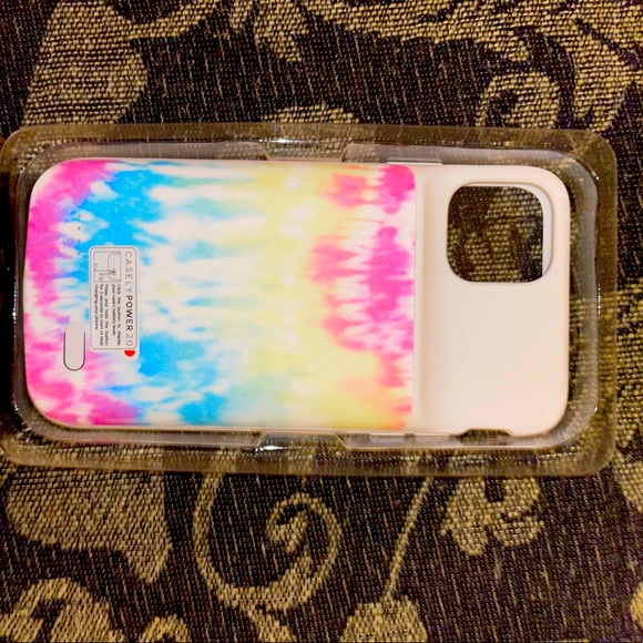 iPhone 11 Pro Max brand new battery tie dye case